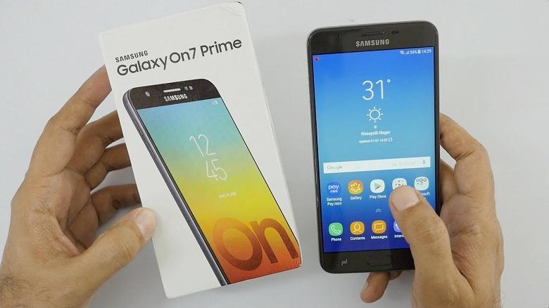 Обновление до Android 9 Pie и One UI получил смартфон Samsung Galaxy On7 Prime