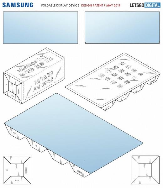 Занимательная геометрия от Samsung. Планшет, который складывается в правильный параллелепипед