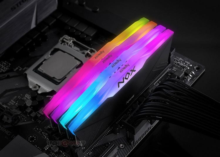 Apacer NOX RGB DDR4: модули памяти с большими радиаторами и RGB-подсветкой
