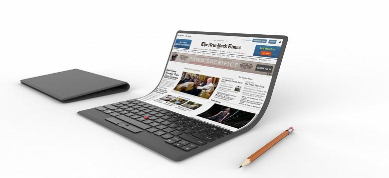 Intel допускает появление ноутбуков с гибкими дисплеями уже через пару лет