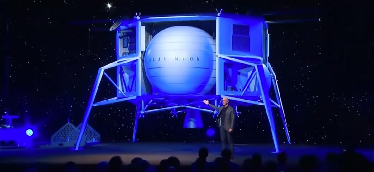 Джефф Безос объявил о планах покорения Луны - 3