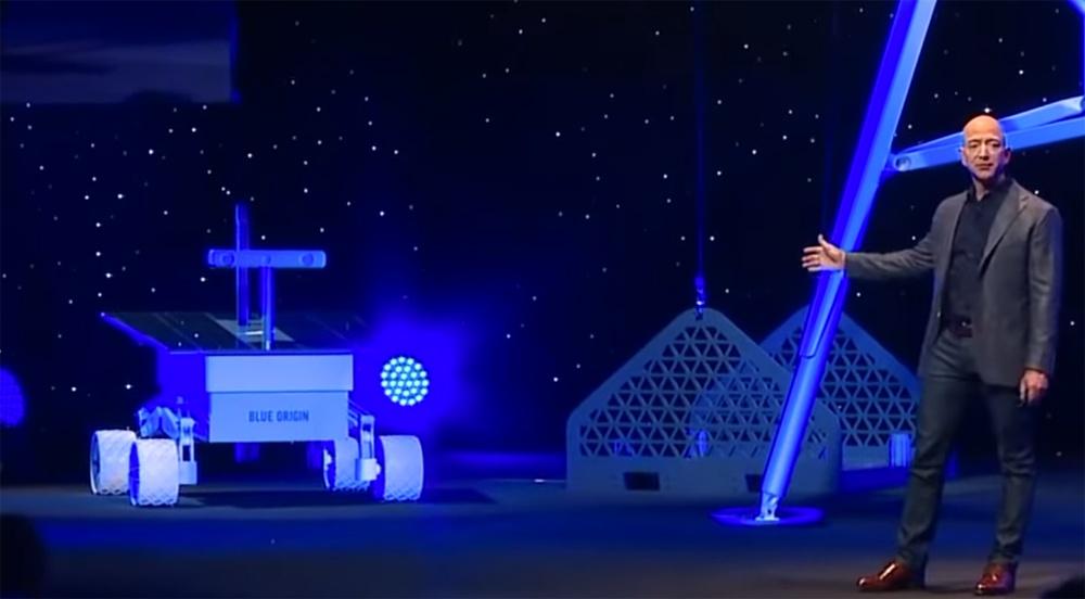 Джефф Безос объявил о планах покорения Луны - 5