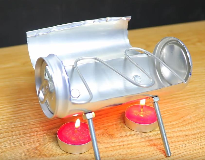 Полезные советы на выходные: холодильник из воздушных шариков, лампа из смартфона и самодельный стедикам - 9
