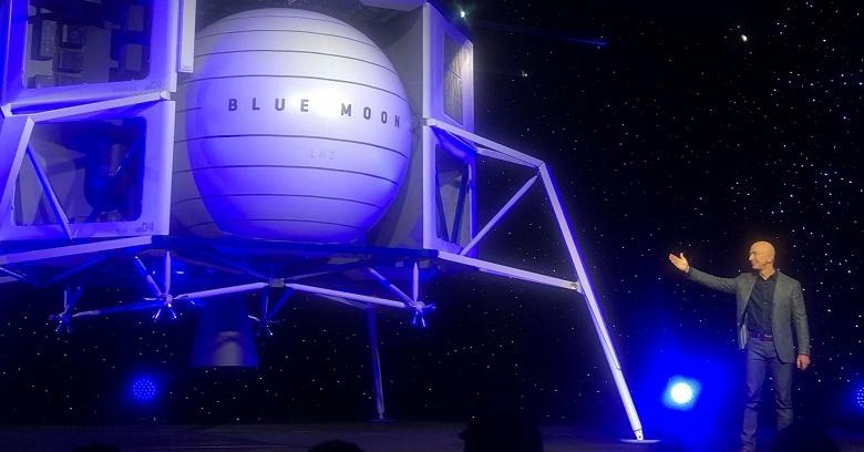 Представлен лунный корабль Blue Moon — возможно, он доставит астронавтов на Луну к 2024 году
