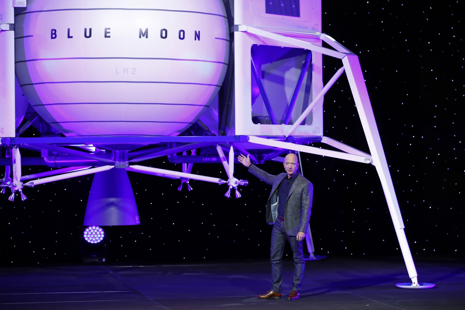 Проект «Blue Moon» от Blue Origin: люди на Луне к 2024 году - 1