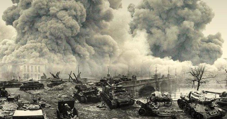 Техника в боях за Победу: штурм Берлина