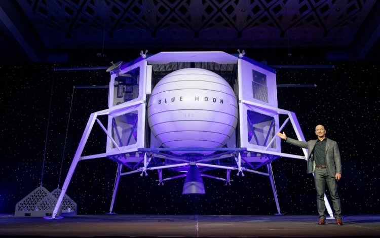 Blue Origin представила аппарат для доставки грузов на Луну