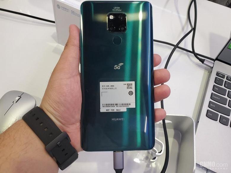 Недорогой смартфон Huawei с 5G появится к концу следующего года