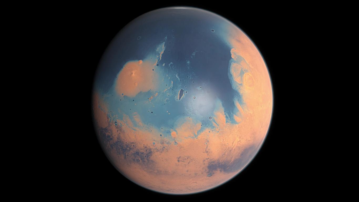Как Марс теряет воду — научное исследование с моделированием - 1