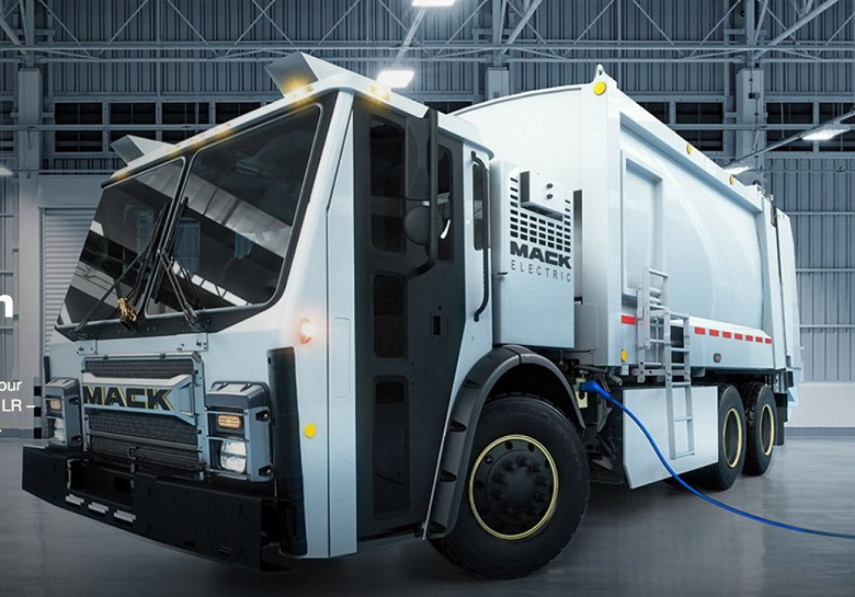 На выставке WasteExpo 2019 показан электрический мусоровоз Mack