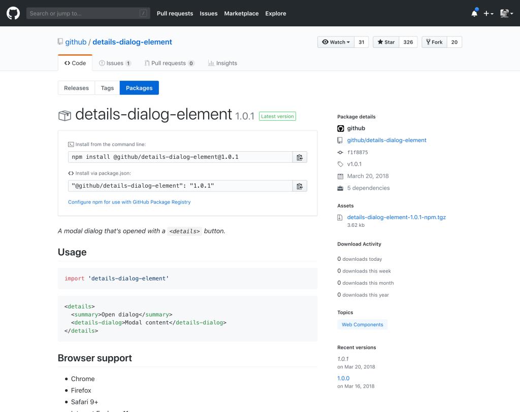 Представлен GitHub Package Registry - 4