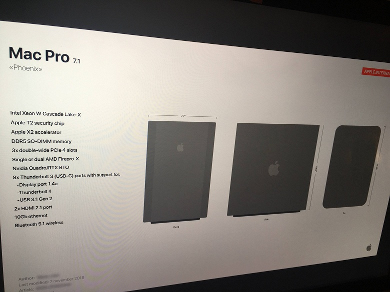 Модульный Mac Pro. Появились первые изображения самого мощного компьютера Apple