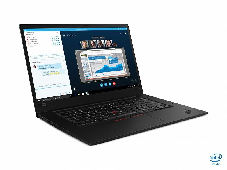 Новый Lenovo ThinkPad X1: масса в 1,7 кг, экран OLED, игровая видеокарта и SSD объёмом 4 ТБ