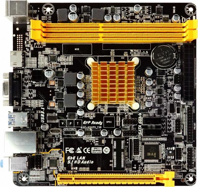 Плата Biostar A68N-2100E предназначена для компактных и бесшумных домашних и офисных ПК