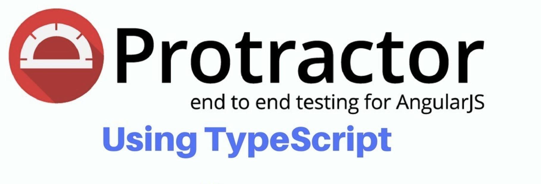 Разворачиваем автоматизацию за пару часов: TypeScript, Protractor, Jasmine - 1