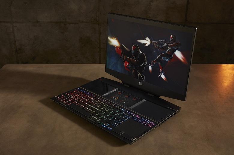 HP представила первый в мире двухэкранный игровой ноутбук Omen X 2S