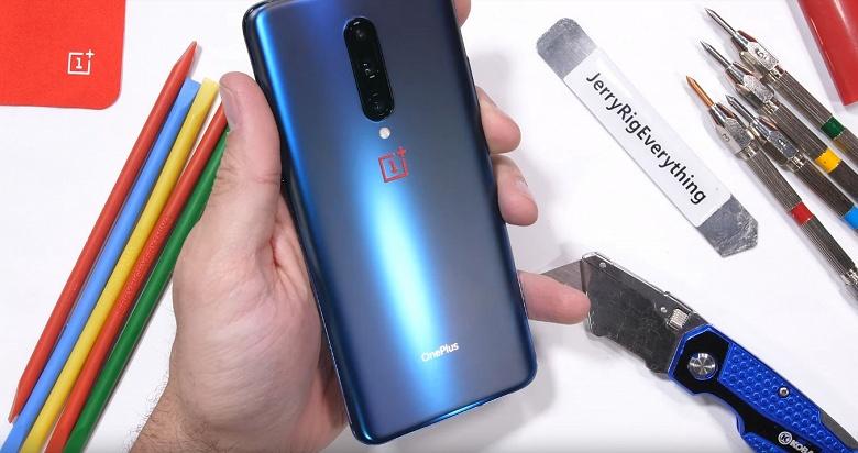 Испытания показали, что смартфон OnePlus 7 Pro имеет определённую защиту от влаги и функцию автоматического определения падений
