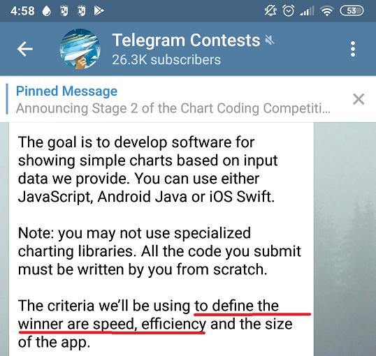 Принимаем участие в недавнем Telegram Contest, пишем крутое OpenGL ES приложение и выигрываем ничего - 2