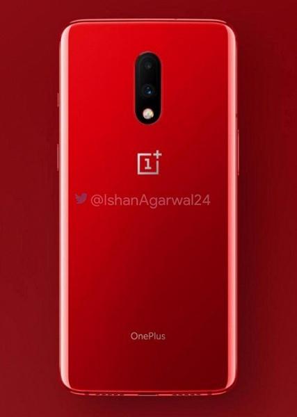 Выбор будет: смартфон OnePlus 7 появится в красном цвете, но неясно, когда
