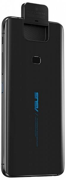 Asus ZenFone 6 с необычной откидной камерой позирует на больших официальных рендерах