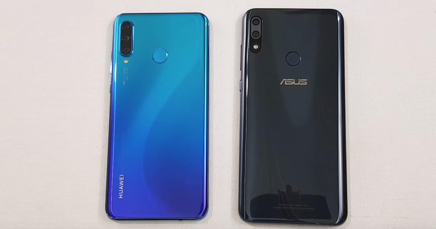 Huawei P30 Lite против Asus Zenfone Max Pro M2: тест на скорость