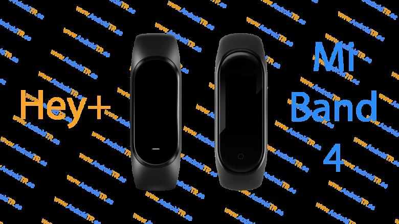 Фитнес-браслет Xiaomi Mi Band 4 не стоит путать с Xiaomi Hey+