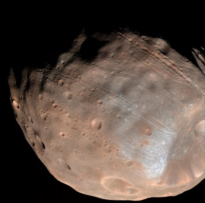 Метеоритные кратеры на Земле и в космосе - 1