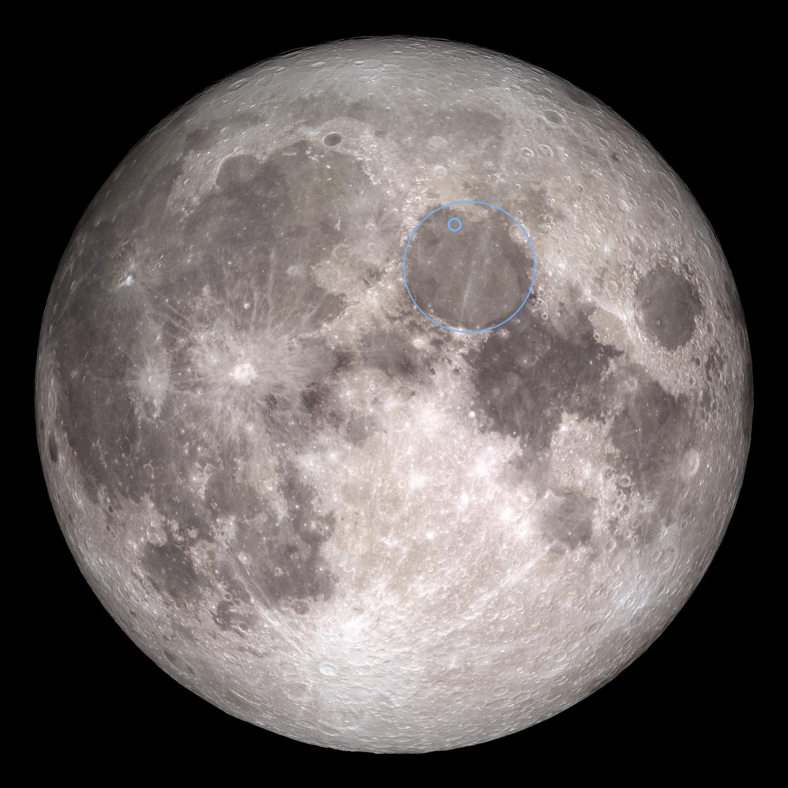 Найдено место падения аппарата «Берешит» на Луну - 11
