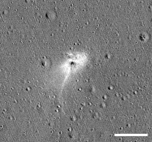 Найдено место падения аппарата «Берешит» на Луну - 12