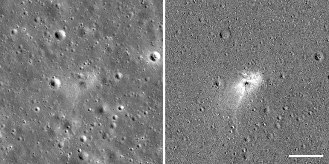 Найдено место падения аппарата «Берешит» на Луну - 1