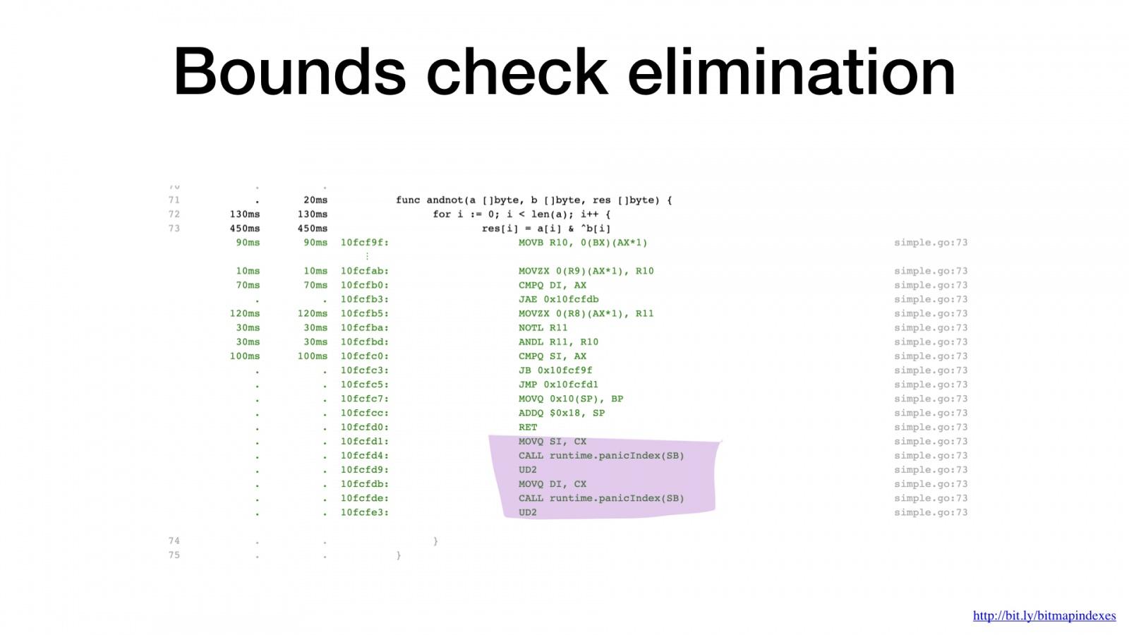 Bitmap-индексы в Go: поиск на дикой скорости - 33