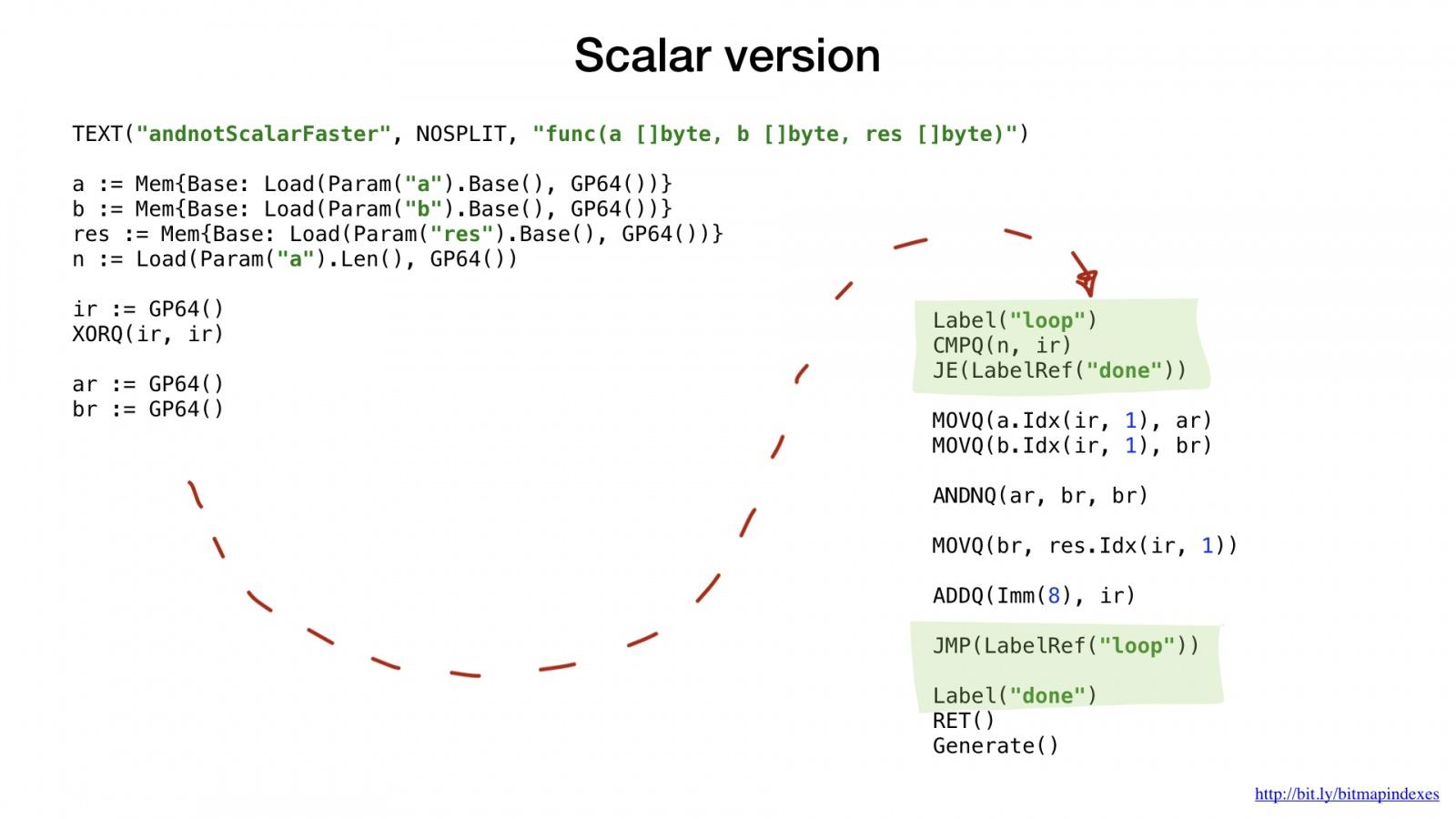 Bitmap-индексы в Go: поиск на дикой скорости - 45