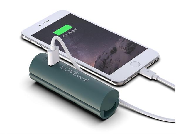 Xaiomi встроила мобильный аккумулятор в ручку для пакетов и сумок