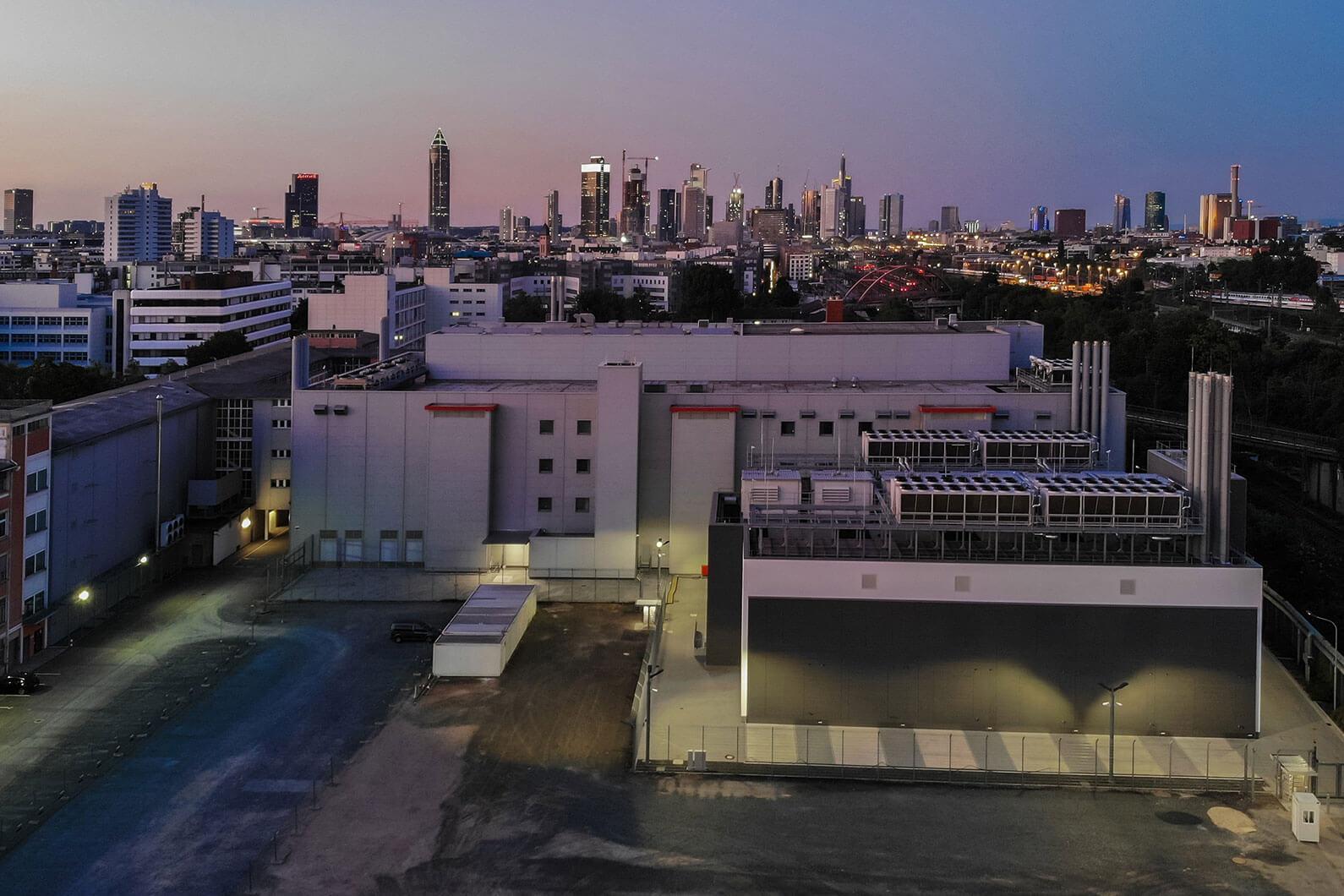 Дата-центр во Франкфурте: ЦОД Telehouse - 10