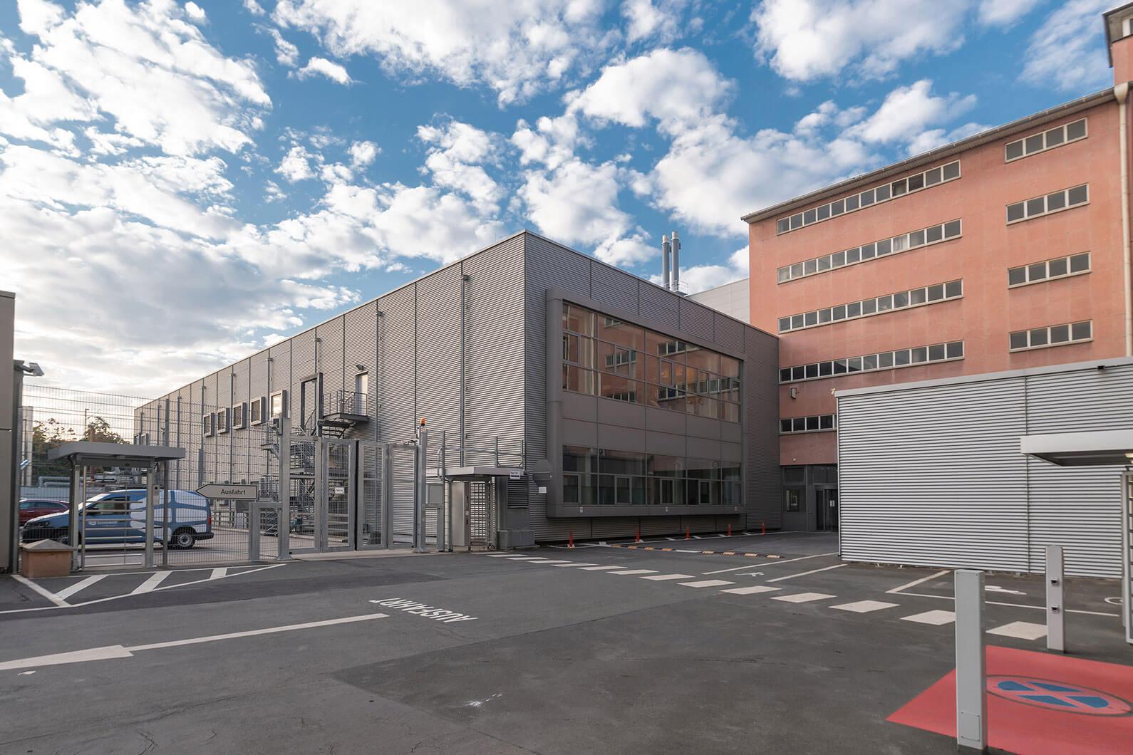 Дата-центр во Франкфурте: ЦОД Telehouse - 3