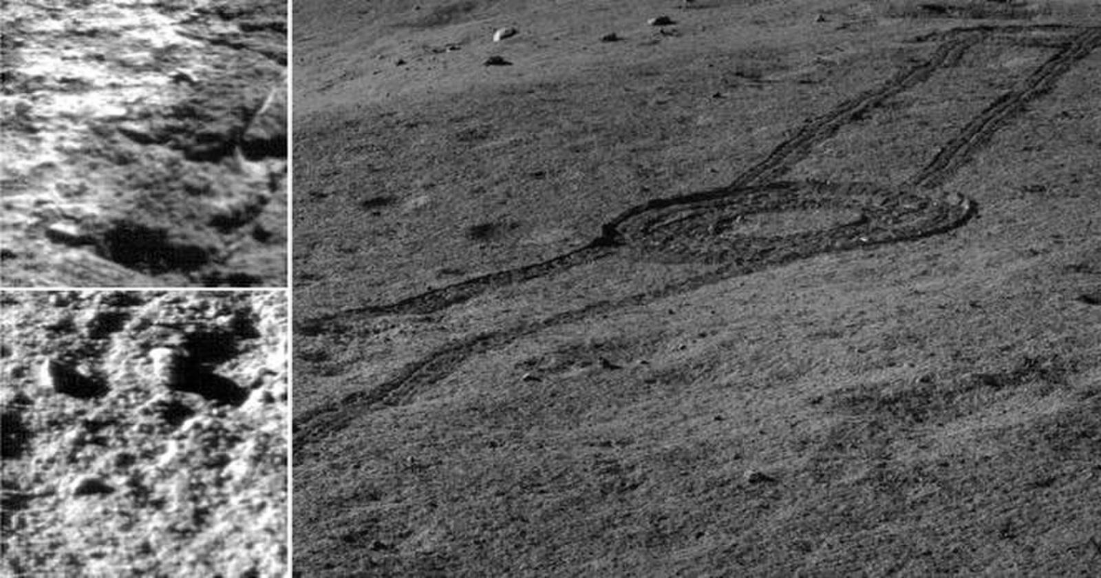 Китайский луноход обнаружил минералы из мантии Луны