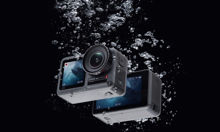 Конкурент GoPro Hero 7 Black за $350. Представлена водонепроницаемая экшн-камера с двумя экранами DJI Osmo Action