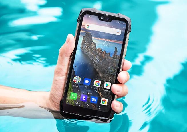Неубиваемый смартфон Blackview BV9700 Pro с SoC Helio P70, датчиками чистоты воздуха, ЧСС и внешней камерой можно заказать за $299