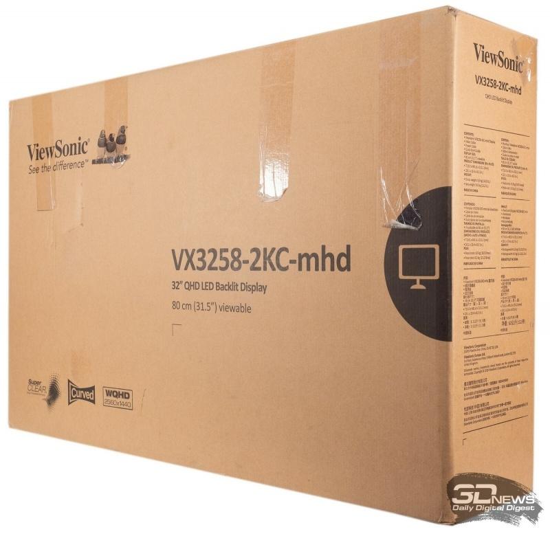 Новая статья: Обзор игрового WQHD-монитора Viewsonic VX3258-2KC-mhd: достойный представитель сегмента