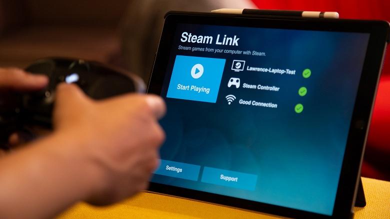 Пользователи iPhone и iPad наконец-то получили возможность играть на своих устройства в игры с сервиса Steam