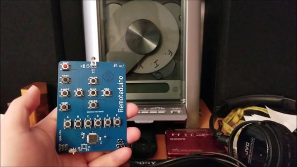 Пульт ДУ с малым током покоя на ATmega328P - 1