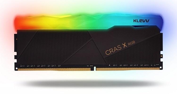 Серию KLEVV CRAS X RGB пополнили комплекты модулей памяти с частотой до 4266 МГц