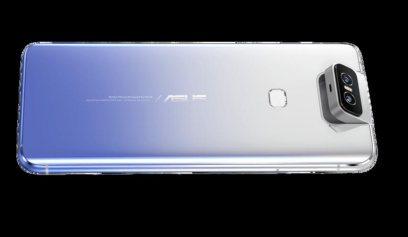 Asus показал смартфон с выкидной камерой