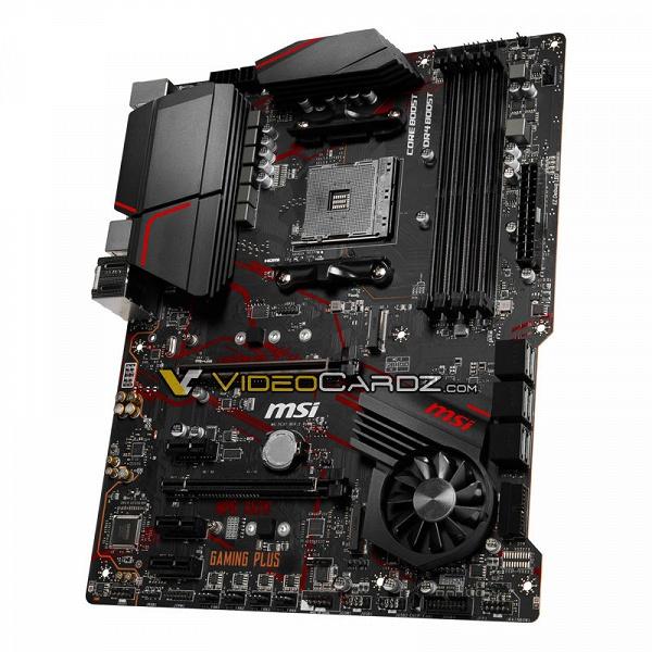 MSI готовит материнские платы X570 Gaming Plus и X570 Pro Carbon для процессоров AMD Ryzen 3000, обе оснащены вентиляторами