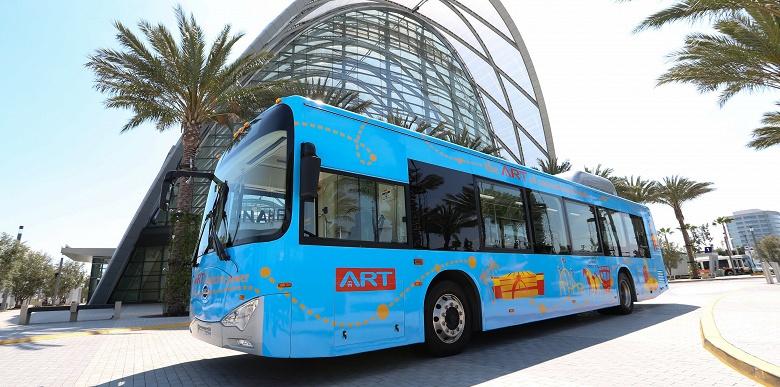 Американская компания ATN вскоре будет иметь один из самых больших автопарков электрических автобусов в США