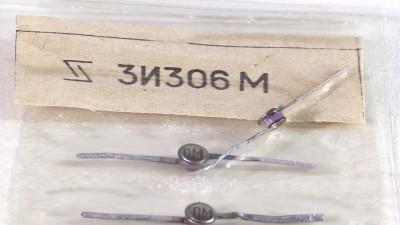 Изучаем туннельный диод на примере 3И306М - 1