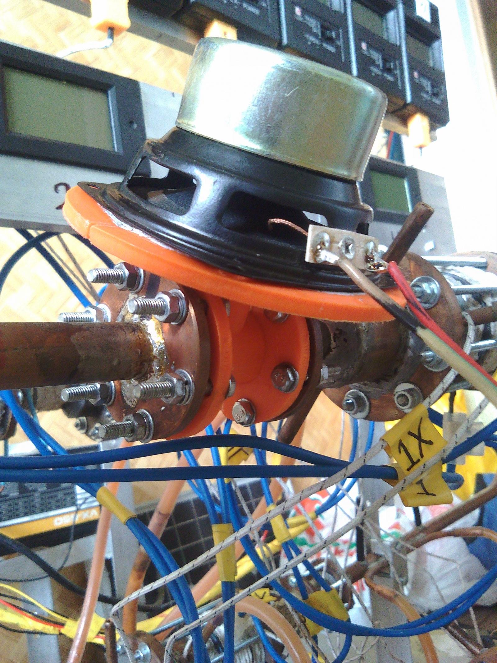 Термоакустика. Выработка электроэнергии из звука с помощью динамика - 13