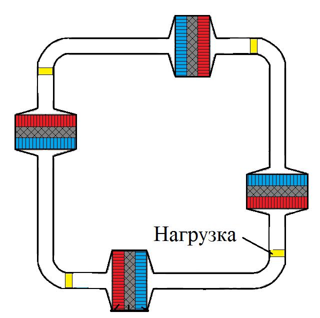 Термоакустика. Выработка электроэнергии из звука с помощью динамика - 3