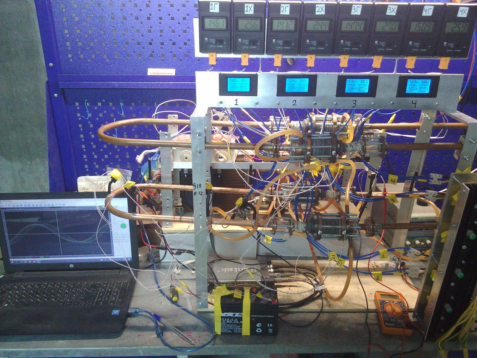 Термоакустика. Выработка электроэнергии из звука с помощью динамика - 1