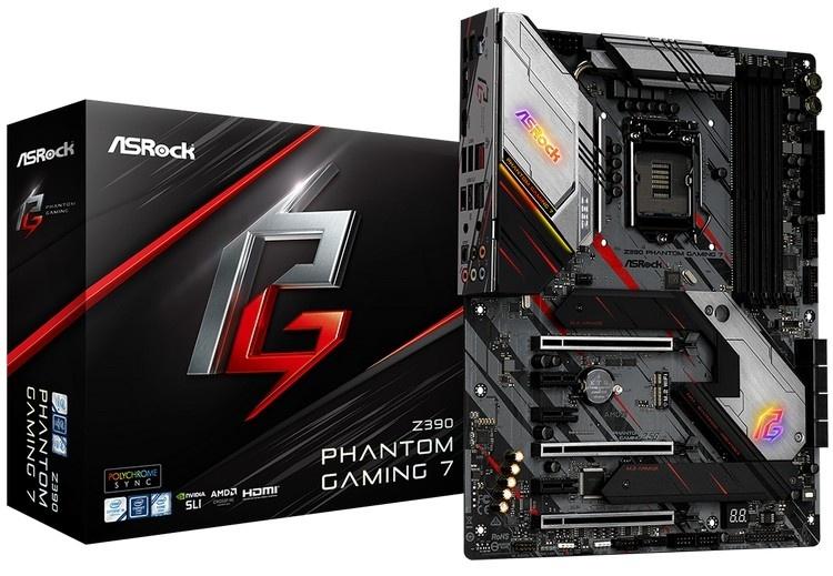 ASRock представила новые материнские платы в семействе Z390 Phantom Gaming
